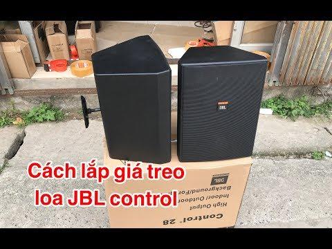 Cách Lắp Giá Treo Loa JBL Control ( Không Phải Ai Cũng Biết ) DVH Audio 0966668764 - 0363553277