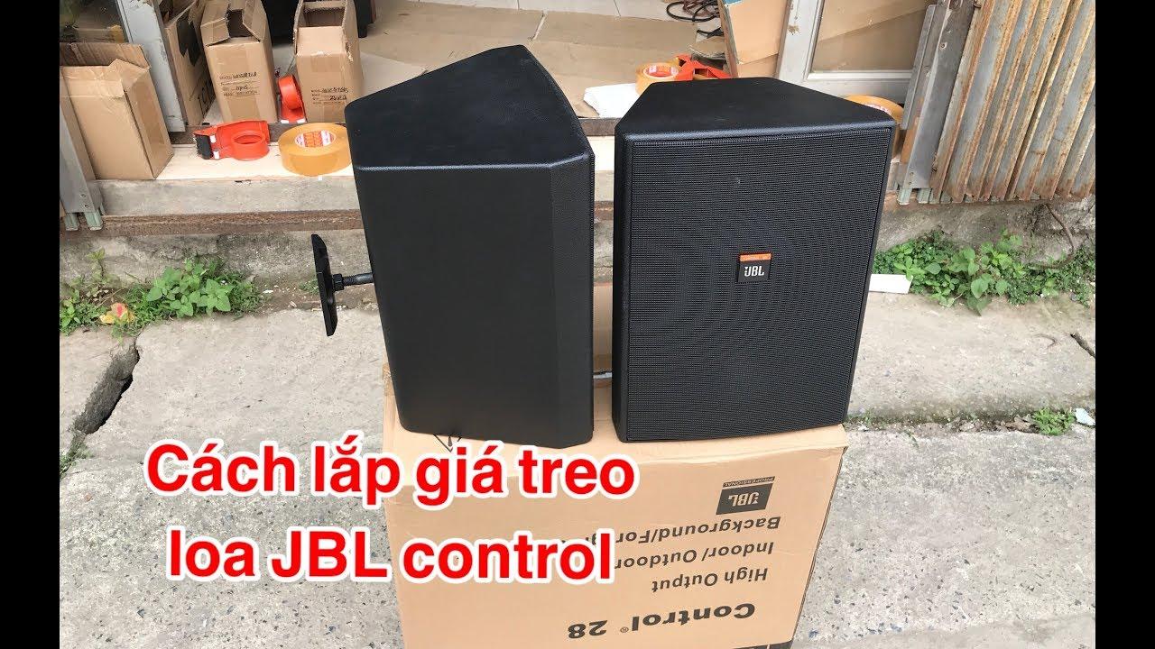 Cách lắp giá treo loa JBL control ( không phải ai cũng biết ) DVH audio  0966668764 - 0363553277 - YouTube
