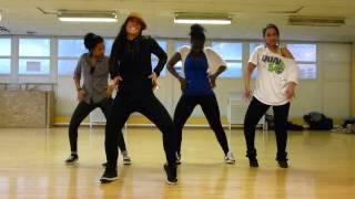 SONIA chez Temps Danse Dancehall  by FRED de dansein59.fr