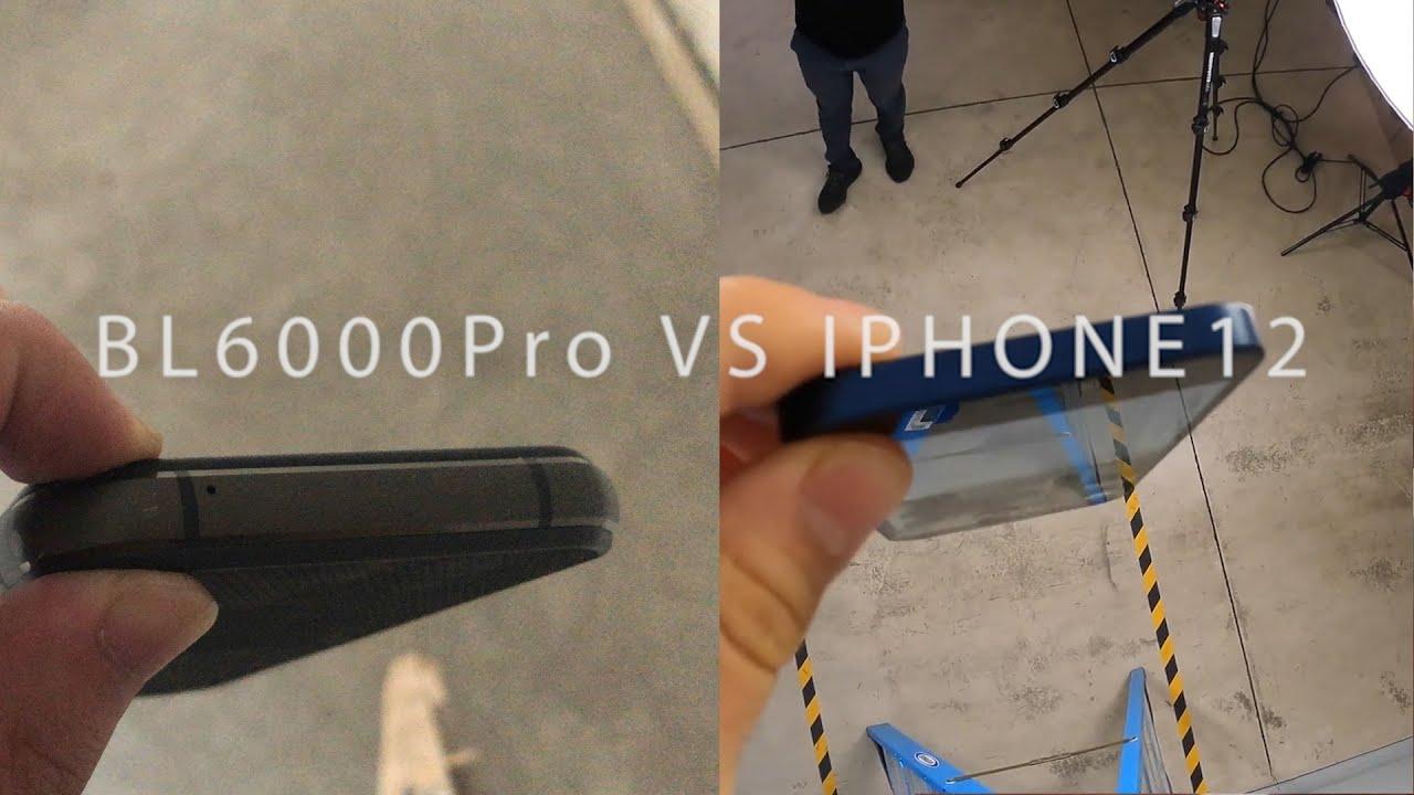 Blackview BL6000 Pro Drop Test - Stronger Shield! vs iPhone 12 Pro, who win?