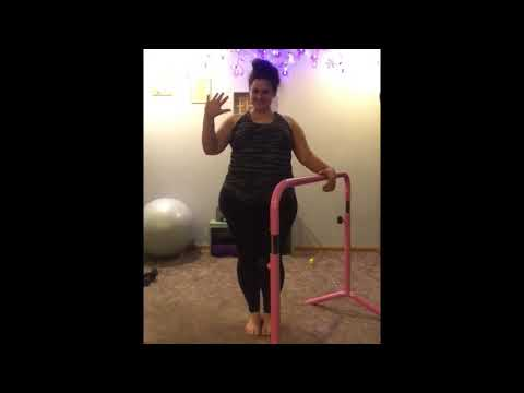 """One Last Time"" Adriana Grande Barre Booty & Legs"