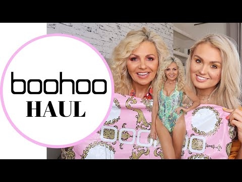 BOOHOO HAUL & TRY ON /SUMMER HAUL/DAUGHTER DRESSES MOM/MAY 2019/GIFTED