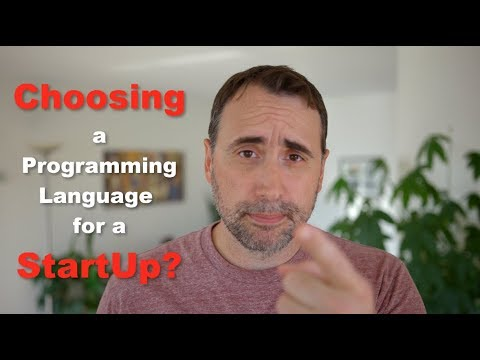 Choosing a Programming Language for a StartUp?