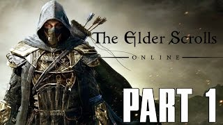 Elder Scrolls Online: Gold Edition - Part 1 - BRAND NEW CHARACTER (PS4 HD)