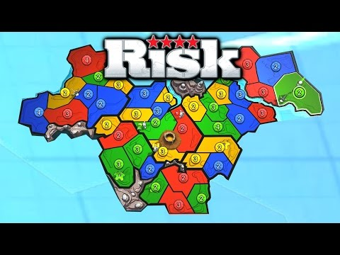 VOLCANO MAP?! - RISK FACTIONS (Risk Game 6)