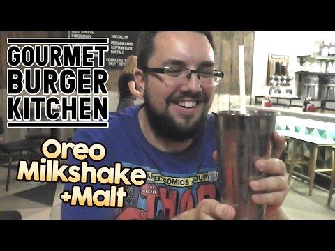 Oreo Milkshake +Malt Review | Gourmet Burger Kitchen