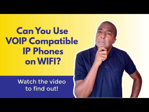 Can You Use VOIP Ip Phones On WiFi?