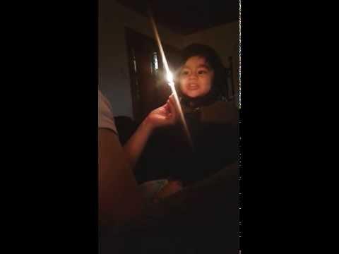 Garrett sing happy birthday