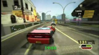 Need for Speed Nitro (Wii) Elimination Race