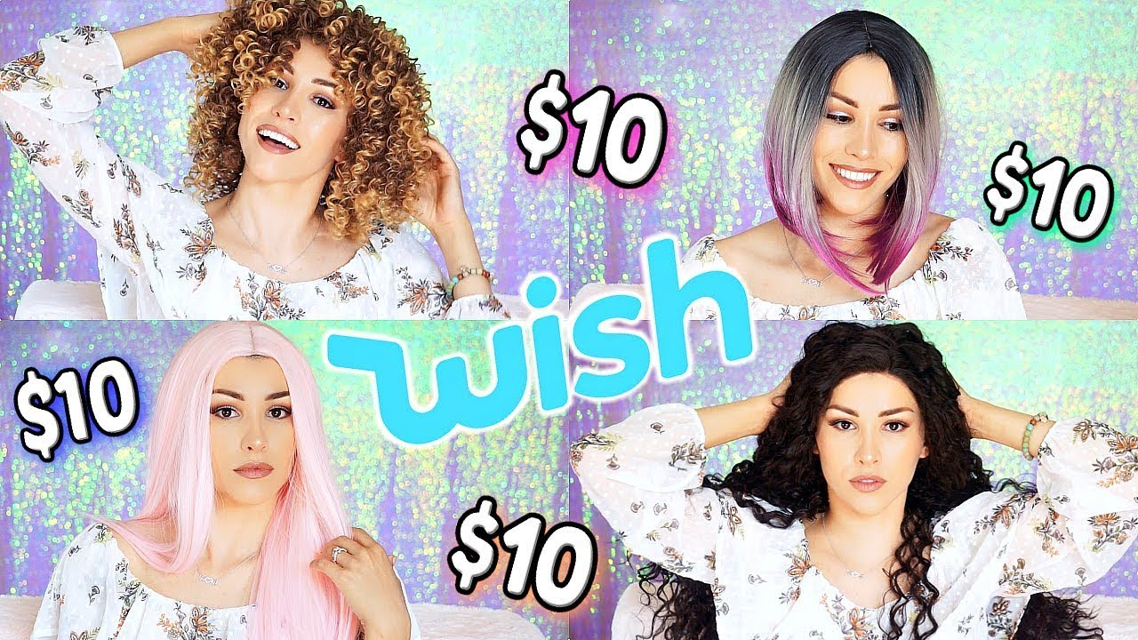 I TRIED $10 WIGS FROM WISH!!!😱 (**Huge Success**)
