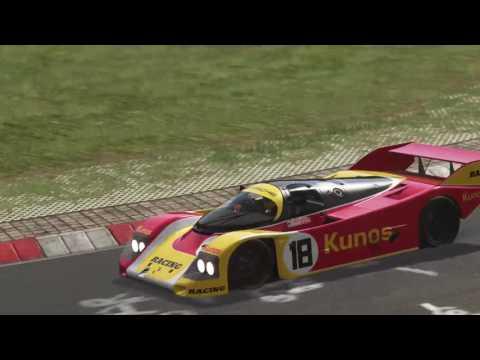 Assetto Corsa Porsche 962 at the Ring  