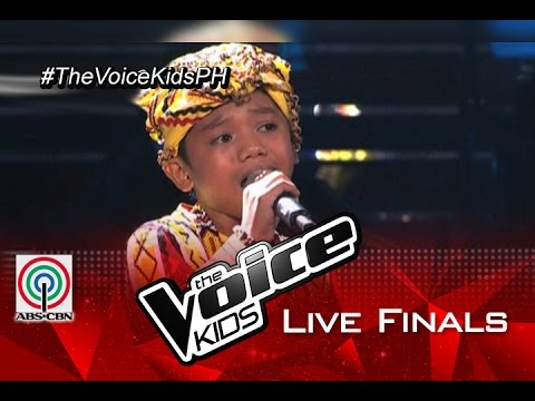 """The Voice Kids Philippines 2015 Live Finals Performance: """"Magkaisa"""" by Reynan"""