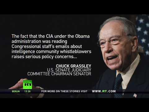 US declassified docs: CIA was reading Congress staff emails on whistleblowers' protection