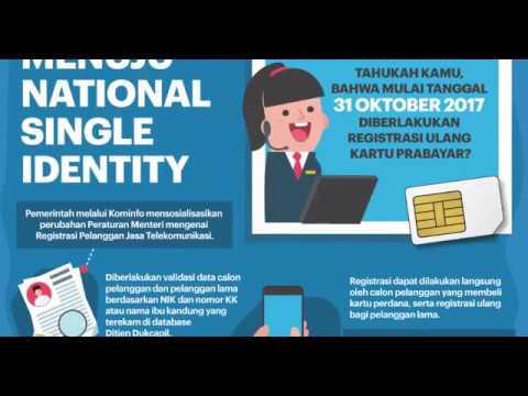 Ini Penyebab Gagal Registrasi Kartu SIM Beserta Solusinya  YouTube