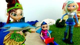 Мультики для девочек - Сказочный патруль на отдыхе - Видео про кукол