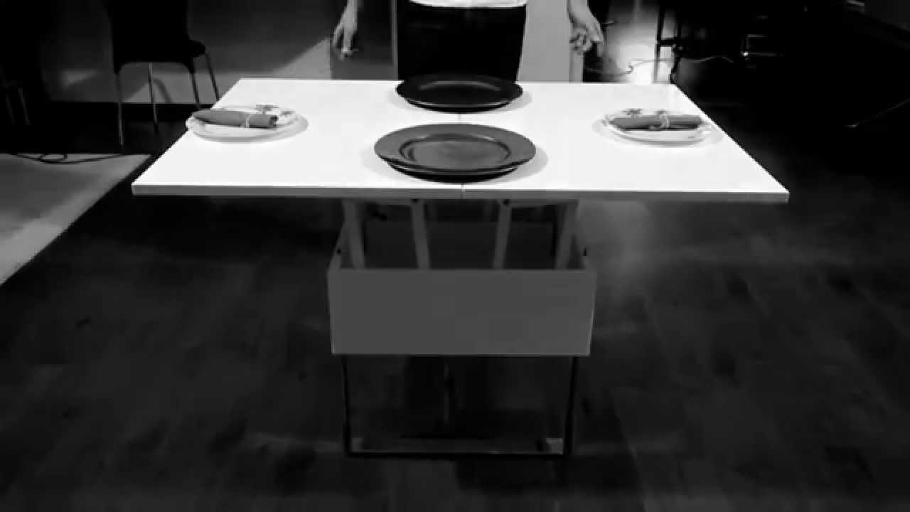 Artesanato Luminaria ~ Mesa de centro que vira mesa de jantar YouTube