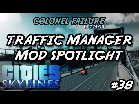 Cities Skylines #38 : Traffic Manager mod spotlight