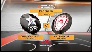Highlights: Anadolu Efes Istanbul-Olympiacos Piraeus, Game 4