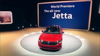 2019 Volkswagen Jetta, 2018 Passat GT debut at Detroit auto show