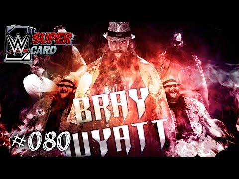 #054 Bray wyatt Slam attax superstars
