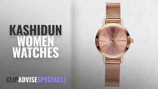 10 Best Selling KASHIDUN Women Watches [2018 ]: KASHIDUN Women's Quartz Watches Wrist Watches Rose