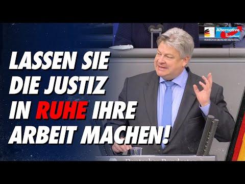 Lassen Sie die Justiz in Ruhe ihre Arbeit machen! - Thomas Seitz - AfD-Fraktion im Bundestag