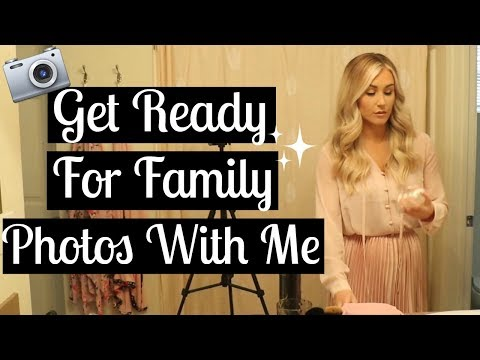 DAY IN THE LIFE WITH AN INFANT AND TODDLER | Getting Ready for Family Photos | Tara Henderson