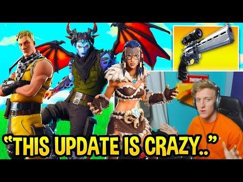Смотреть Tfue FULLY Explains ALL Fortnite 7.20 Changes! Shields NERF, Editing UPDATE, and MORE! (NEW SKINS!) онлайн