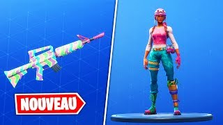 NEW SKIN PASTEL - CAMO SPRING! Fortnite Battle Royale