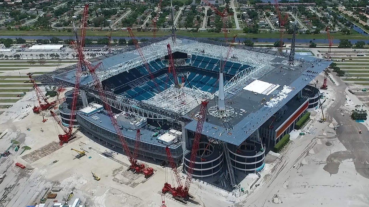 Maxim Hard Rock Stadium Roof Expansion Youtube