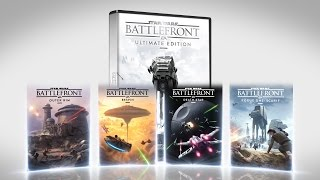 The Star Wars Battlefront Ultimate Edition has everything you need to live out your Star Wars battle fantasies, including Star Wars Battlefront and Star Wars ...