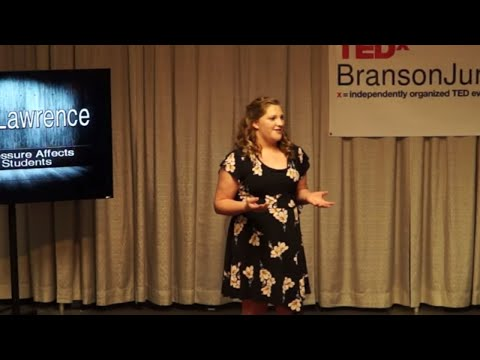 How Peer Pressure Affects Everyday Students | Serenity Lawrence | TEDxBransonJuniorHigh