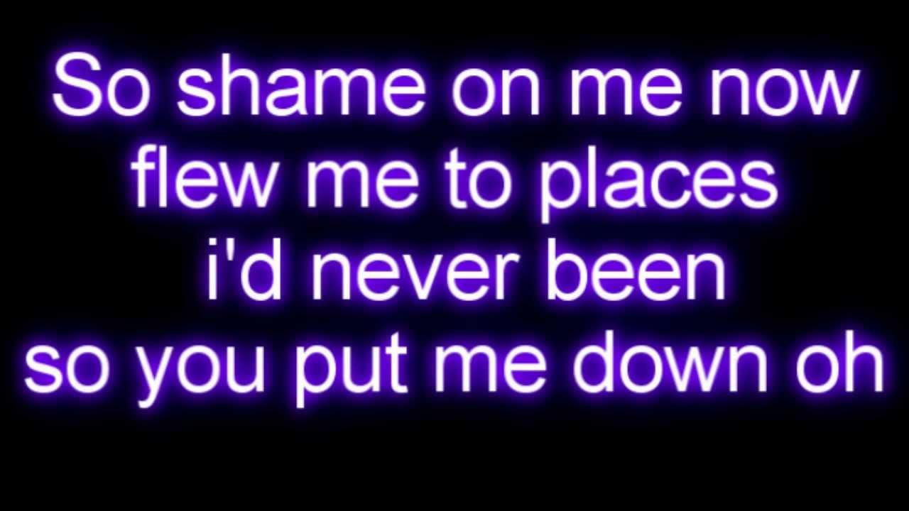 I knew you were trouble lyrics with music