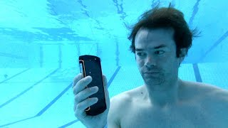 Can you film at the bottom of a 5m/15ft deep pool with a phone? Blackview phone undewater test