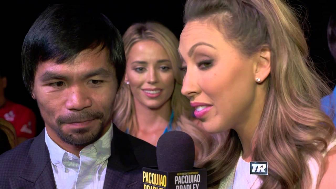 Manny Pacquiao's Not Worried About Bradley | Pacquiao-Bradley | Final Main Event Presser