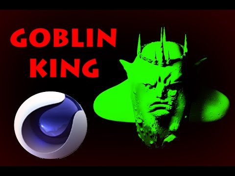 GOBLIN KING - Speedart - Cinema 4D