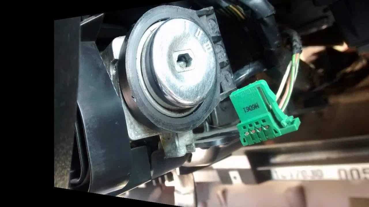 Wymiana wkładki stacyjki Ford Mondeo MK3 2001 r  (replacement of ignition))