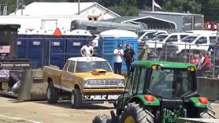USA EAST PULLING SERIES | CRAWFORD COUNTY FAIR | SUPER STREET GAS 4X4 TRUCKS (POINTS FINALS)