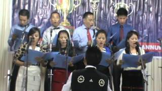 song by India Baptist Theological Seminary,Kottayam- choir master Hovika Tsu at Holy Night 2014