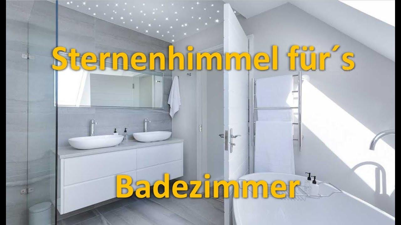 Sternenhimmel für Badezimmer und Dusche