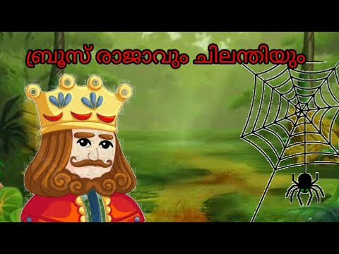 King Bruce And The Spider|A Motivational Story For Kids|