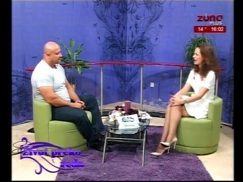 Marina Kostić Život preko reda gost emisije  Milan Strongman Jovanović  TV Zona Plus