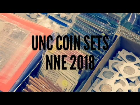 UNC Coin Sets Collection at NNE 2018