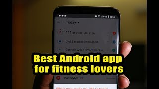 Best Android app for fitness lovers