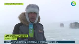 Суворий тест-драйв: військові випробували нові снігоболотохід в Арктиці