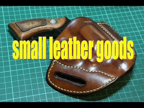 Making A Pancake Holster For Smith & Wesson M10 Snubnose
