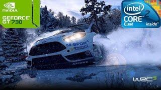 WRC 5 FIA World Rally Championship on Intel Core 2 Quad Q8400 & Nvidia GT730