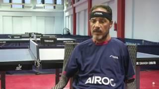 بطل تنس الطاولة المصري المعاق حماتو يستعد لبارالمبياد ريو