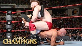 """بالفيديو- نتائج Clash of Champions: آخر مباريات """"الأفضل من سبعة"""" تنتهي بخيبة أمل!"""