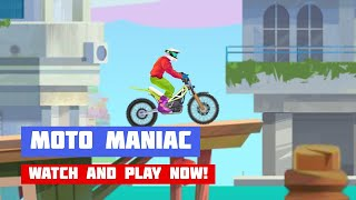 Moto Maniac · Game · Gameplay
